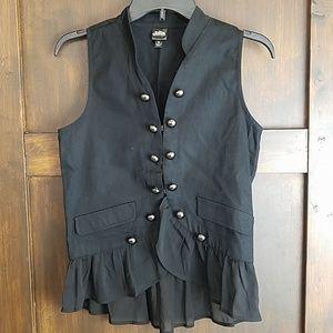 ⚡Cute button front vest